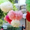 Christmas paper decorations big flowers for wedding