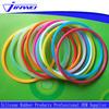 Food grade square lathe silicone rubber o ring