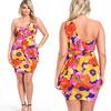 2014 plus size floral wrap dress designs fat ladies