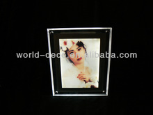 hot sale table use led photo/picture frame
