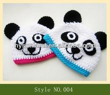 Crochet Animal Hat Pattern Lovely baby animal hats Panda hats