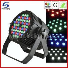 54x3w IP65 RGBW waterproof mixing dimming strobe LED par light