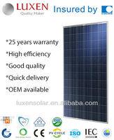300w poly pv solar panel