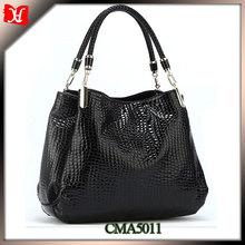 2014 high quality fashion tote bag leather ladies handbag