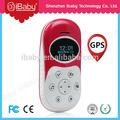 Sms de llamada / Software de la PC / de la plataforma Web teléfono móvil GPS Tracker