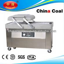 dz500 double chamber vacuum packing machine meat