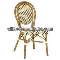 OTA-1001-1,Aluminum Bamboo Garden Chair/french cafe chair