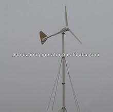 2000W wind-solar hybrid power wind generator wind turbine
