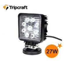 Venda quente! 12 V de condução Worklight 27 W LED trabalho LIGHT Super Bright acessórios chevrolet cruze