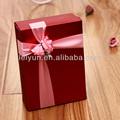 de color rojo creativo de la boda caja de dulces de caramelo caramelo caja caja de regalo de boda de rosas