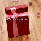 Red color Creative wedding candy box candy box candy box wedding gift of roses