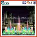 Nouveau design de style moderne programmable jardin fontaine d'eau de dessin
