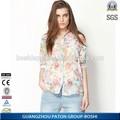 Cómodo uniforme de la oficina de diseños para mujeres de la blusa con buen precio
