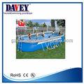 2014 hottest bestway piscina / Oval trapezoidal suporte piscina ( com acessórios )