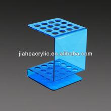 Azul ja-cs-062 opi de acrílico de acrílico de esmalte de uñas de soporte de exhibición
