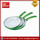 Best Popular Forged Aluminum Ceramic Coating Fry Pan With Honeycomb