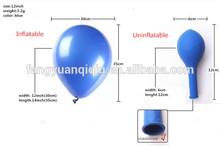 12inch 12'' balloon stand;helium balloon