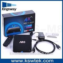 2015 best selling S802 quad core amlogic mx android tv box M8