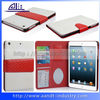 A&T flip leather case for ipad mini with card slot holders
