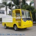 Amarelo 2 assento elétrico de lixo do caminhão de transporte( lt- s2. Ahy)
