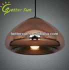 New Dia:30cm Tom Dixon Void Copper/Silver Glass Shade Ceiling Light Pendant Lamp