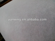 Adhesive non woven fabric for embroidery backing