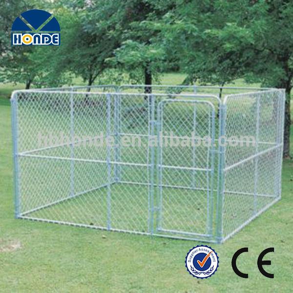 New design unique galvanized cheap chain link dog kennels