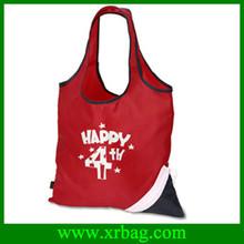 Custom printed foldable polyester shopping bag
