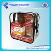 Eco-friendly promotional clear PVC transparent bag,clear PVC cosmetic bag