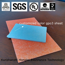 customized UP GM 203 Woven Glass Mat Reinforced Polyester (unsaturated) Resin Sheet