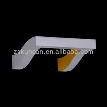 Newest 2014 modern sample style n shape wall lamps Yellow