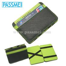 Magic wallet,genuine cowhide leather wallet,hot selling wallet