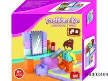 23 unids cómoda modelos, De los niños bloques de construcción de plástico