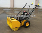 Gasoline Power Broom Sweeper with 80cm working width