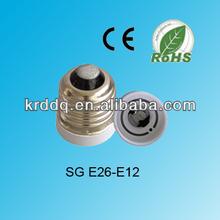 wholesale E26 to E12 lampholder adapters lamp socket