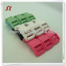 Factory direct sales plastic buckle accessory for bag/paracord/pet collor