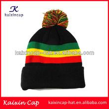 wholesale high quality baggy rasta beanie jamaica slouch hats/ski cap/baby hat