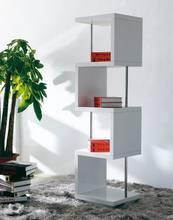 High quality newest white bookshelf