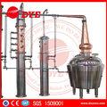 de color rojo cobre comercial de destilación de alcohol de etanol