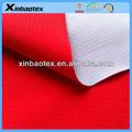 100% 40d*50d de nylon tafetán fabric+tpu lechoso film+100% poli tela interlock