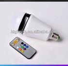 Bluetooth RGB led bulb speaker