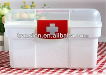 2014 best promotion CCHS-002 PP mini first aid kit box with inner part (Welcome OEM)