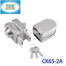 Commercial Cylinder Lock Glass Sliding Gate Lock Store Door Lock Dubai CK65-2A