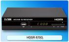 Gecen 2014 digital satellite TV receiver/ set-top-box DVB-S2/ Model HDSR 670G