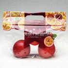 Passion Fruit plastic pouch standup pouch