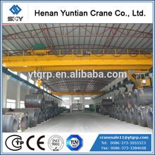 Electric Double Beam Workshop Overhead Bridge Crane
