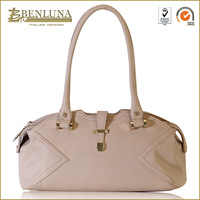 Latest italian style high quality woman shoulder bags tote grey bags