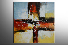 Fashion Lacquer Painting Abstract Canvas Painting for Wall Decoration