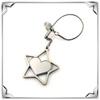promotion metal star key chain