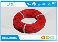 600V 200C heat resisting silicone rubber electric power cables and wires
